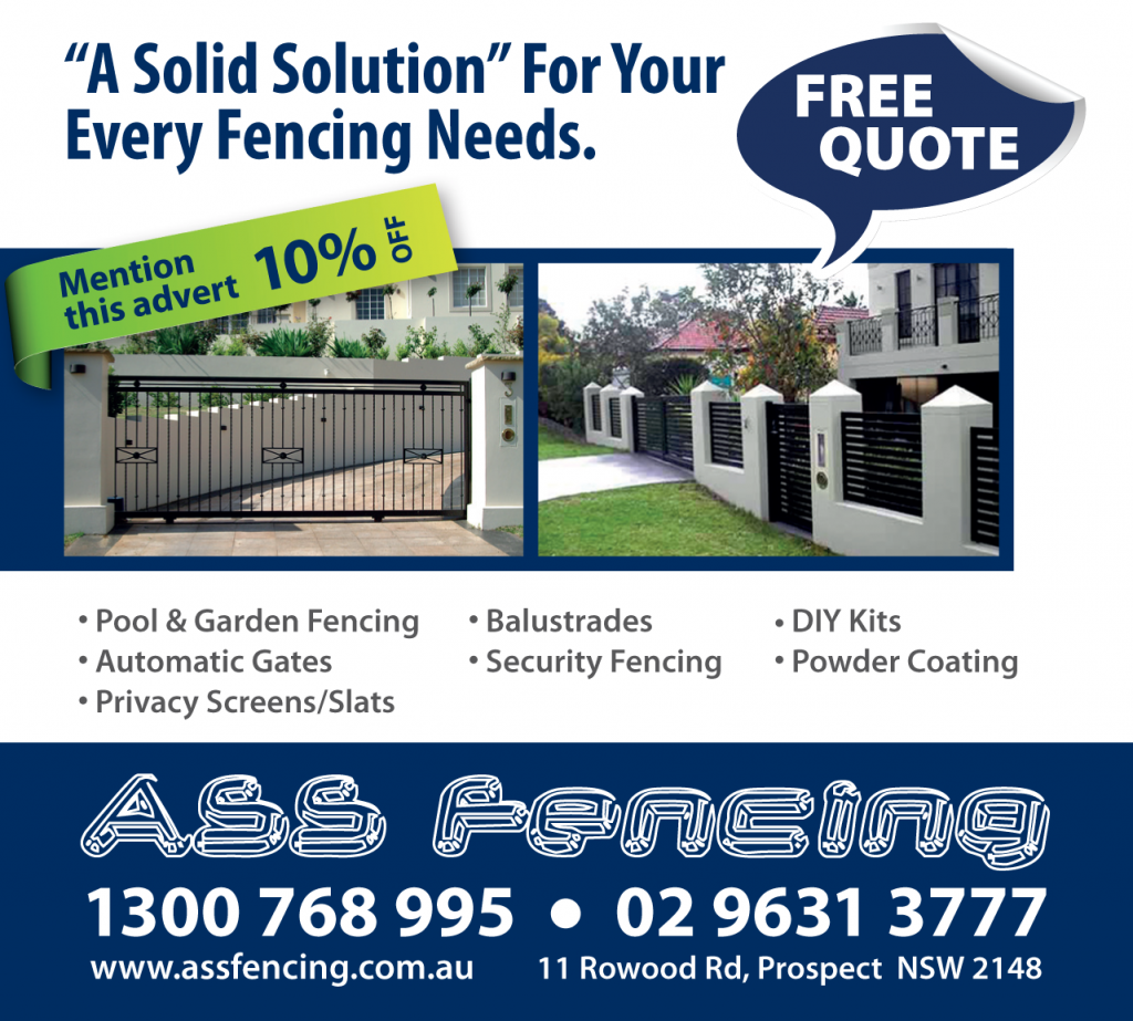 ASS Fencing 10% Off Coupon Offer