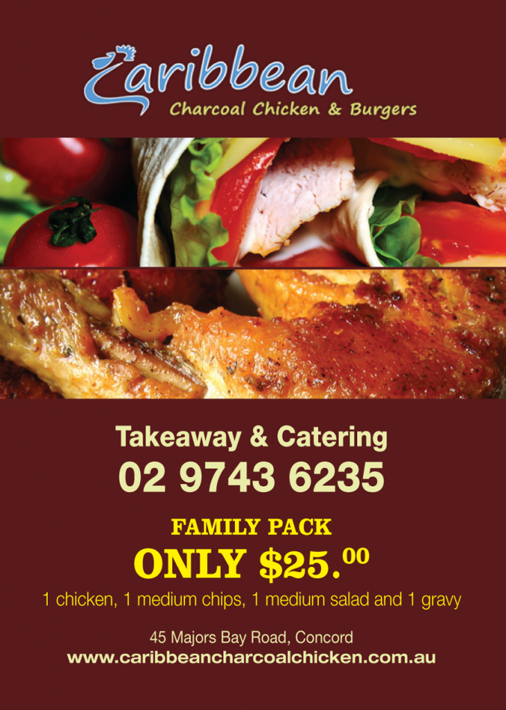 Caribbean Charcoal Chicken & Burgers Discount Offer