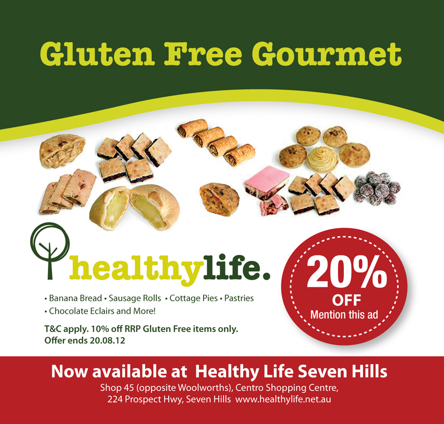 Healthy Life - 20% Discount Coupon