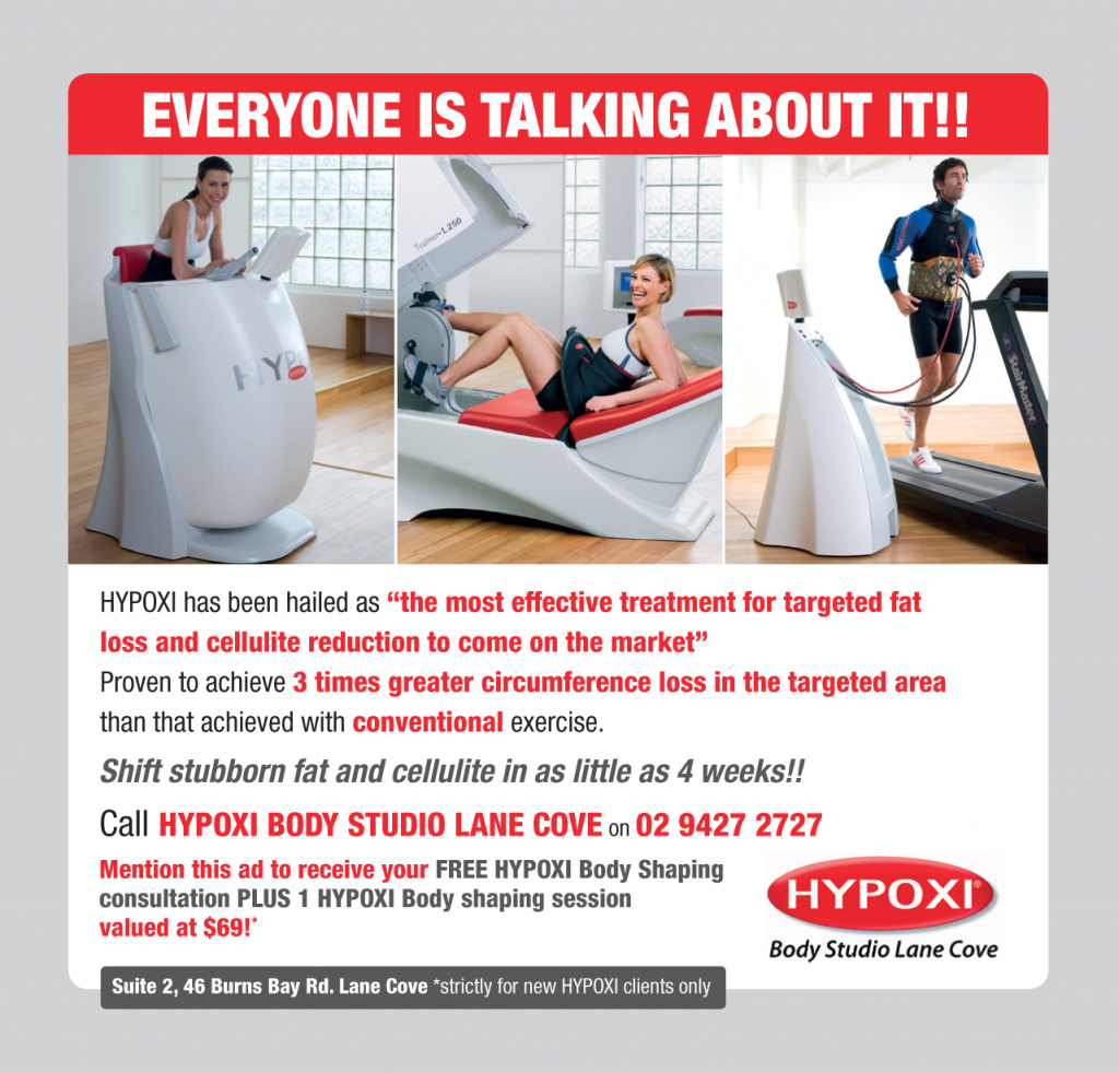Hypoxi Body Studio Lane Cove