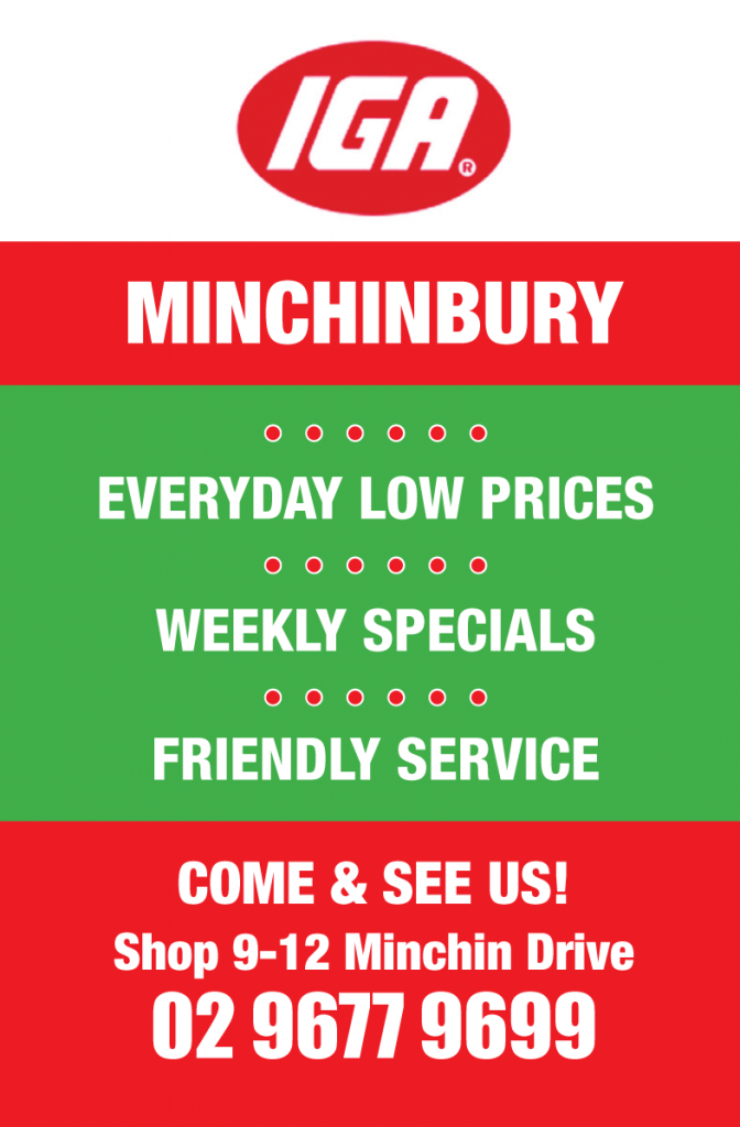 IGA Minchinbury - Everyday Low Prices Online Voucher