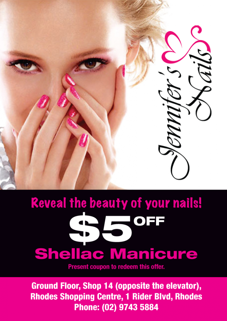 Jennifer's Nails Discount Offer
