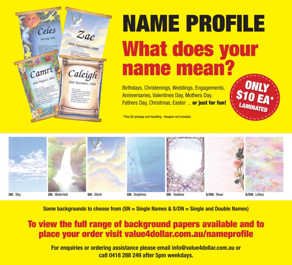 Name Profile