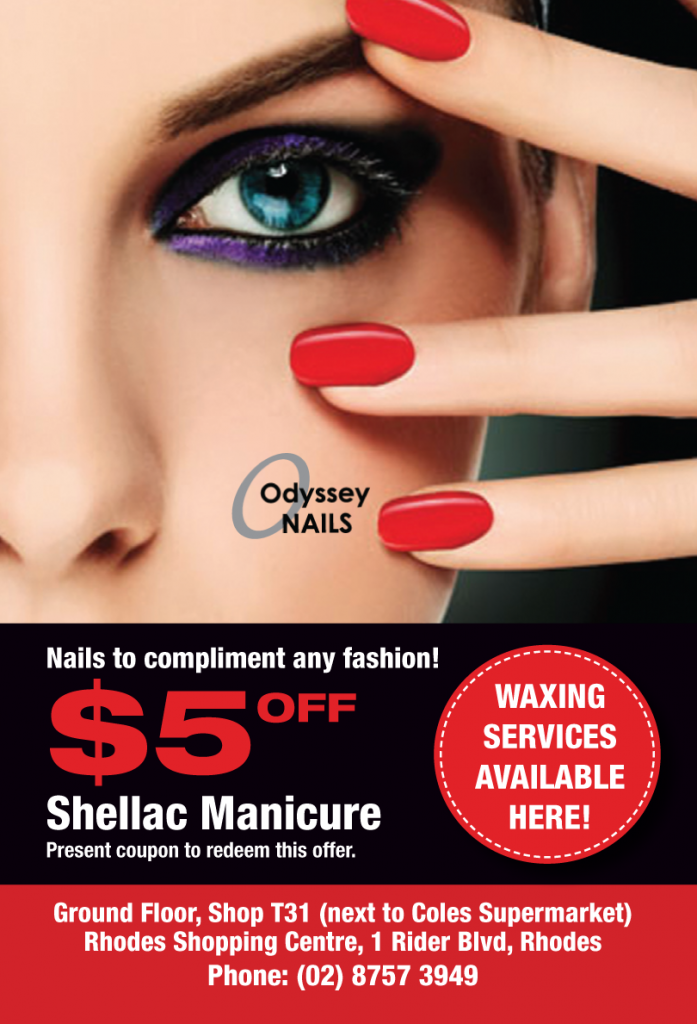Odyssey Nails Discount Voucher