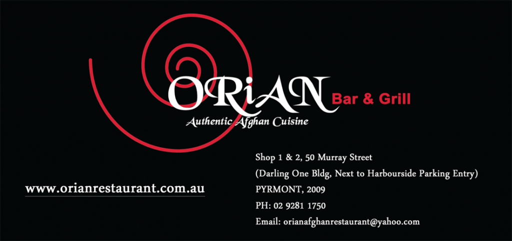 Orian Bar & Grill Authentic Afghan Cuisine