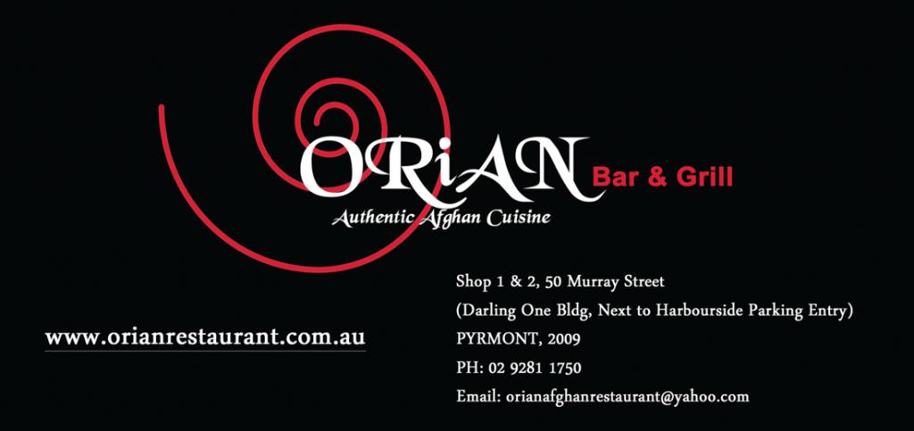 Orian Bar & Grill Authentic Afghan Cuisine