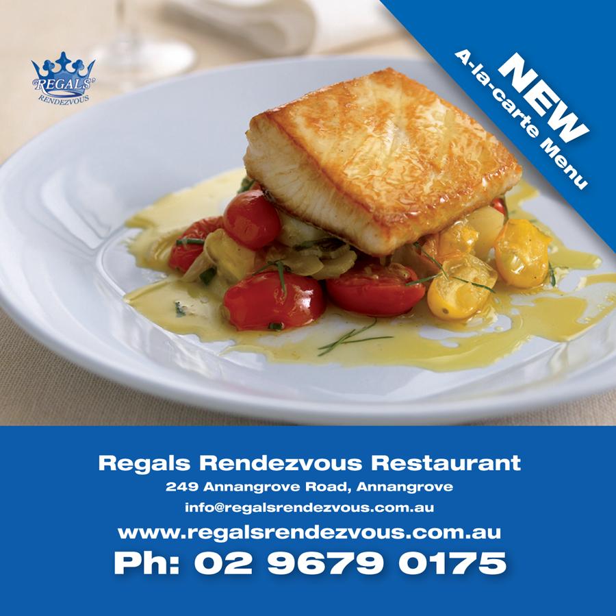 Regals Rendezvous Restaurant Online Coupon