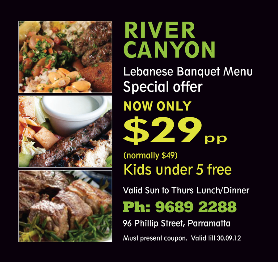 River Canyon Special Offer