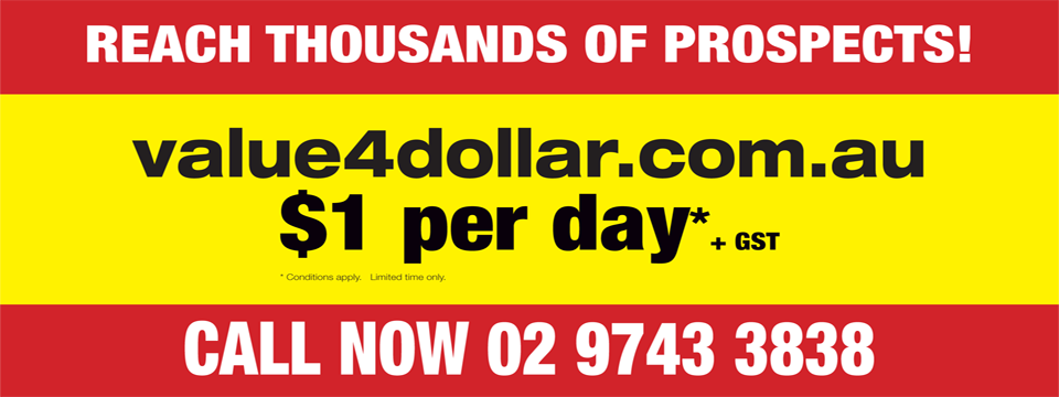 Reach thousands of prospects for only $1 per day!*