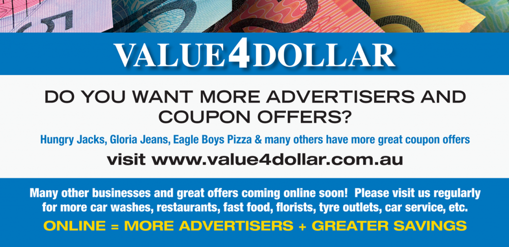 Want to advertise with Value4Dollar