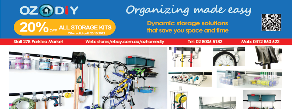 Organizing made easy!